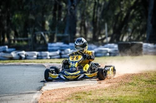technique de pilotage karting